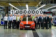 14 Millionen Ford Modelle Ab Werk Ford In Saarlouis