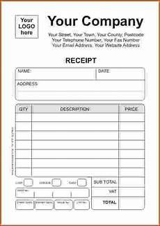 receipt template online printable receipt template