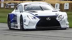 lexus rcf gt3 2016 lexus rc f gt3 engine sound on track