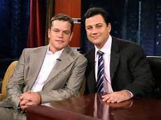 matt damon jimmy kimmel jimmy kimmel and matt damon feud