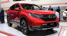 spec 2018 honda cr v arrives with hybrid and 7 seat