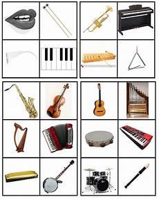 Malvorlagen Instrumente Instrumenten Matrix Muziek Sorteren Op Soort Instrument Blaas Slag