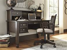 home office desks furniture townser home office desk signature design by ashley