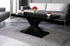 wohnzimmertisch schwarz design couchtisch h 888 schwarz hochglanz highgloss tisch