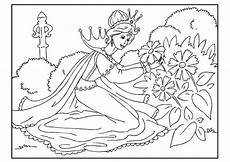 Ausmalbilder Prinzessin Blumen Malvorlage Prinzessin Pfl 252 Ckt Blumen Kostenlose