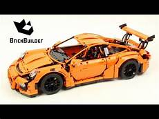 lego technic porsche lego technic 42056 porsche 911 gt3 rs speed build for