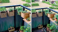 Jardiniere Balcon Osb Plantes Aromatiques Home Sweet