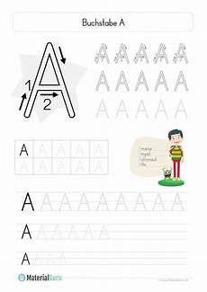 Www Kinder Malvorlagen Buchstaben Schreiben Neu Ein Kostenloses Arbeitsblatt Zum Buchstaben A