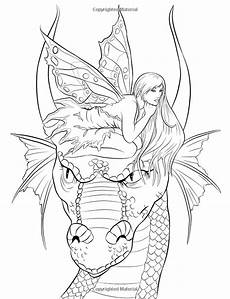 dragons and fairies coloring pages 16591 http www companions coloring book dp 0994355440 ref asap bc ie ut