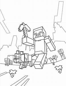 minecraft ausmalbilder kostenlose malvorlagentv