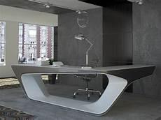 Schreibtisch Modern Design - futuristic l shaped desk for modern workspaces digsdigs