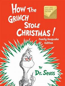 Grinch Malvorlagen Novel How The Grinch Stole B N Exclusive Edition By