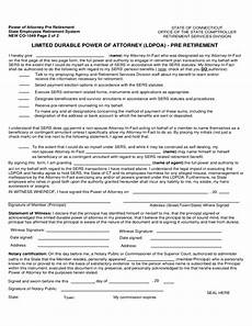 limited durable power of attorney form connecticut free download