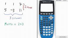 solve matrix system of equations with reduced row echelon form rref part 1 ti 84 calculator