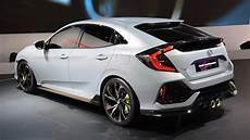 2017 Honda Civic Hatchback Prototype Look 2016