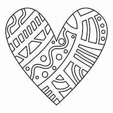 Valentinstag Malvorlagen Zum Ausdrucken Anleitung Kinderblog Herz Malvorlage Copyright Kerstin Weihe Herz