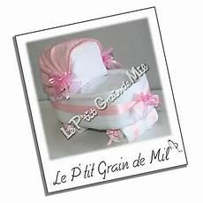 cadeau pour une naissance fille landau couffin de couches pour b 233 b 233 fille id 233 e de cadeau