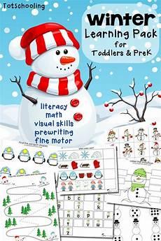 free winter learning for preschoolers free printables preschool printables preschool