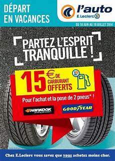 Catalogue E Leclerc L Auto 18 Juin 19 Juillet 2014