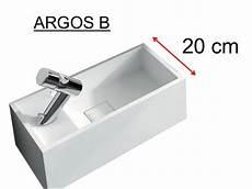 lave 20 cm lave mains type corian 20 cm en r 233 sine solid surface blanc argos b