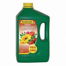 engrais universel liquide 2 5 l algoflash bouteille de 2