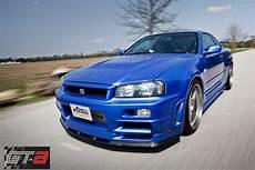 Paul Walker S Nissan Skyline Gt R Front Photo Blue