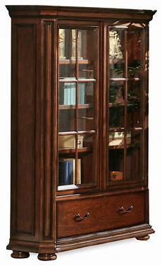 riverside cantata 76 quot glass door bookcase burnished cherry bookcases by harvey haley