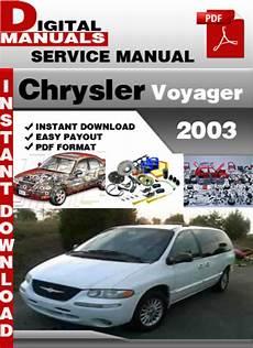 free service manuals online 2003 chrysler voyager windshield wipe control chrysler voyager service manual pdf