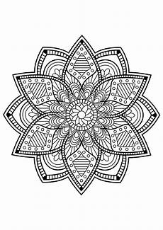 mandala from free coloring books for adults 24 mandalas