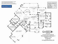amicalola cottage house plan amicalola cottage e 17174 garrell associates inc