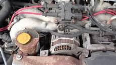 how does a cars engine work 1999 subaru legacy head up display 1999 subaru legacy outback 2 5 litre engine ticking youtube