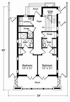 waterfront narrow lot house plans waterfront villa 2nd floor plan southern living house