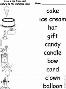 birthday object worksheet 20250 spelling worksheets birthday activities at enchantedlearning