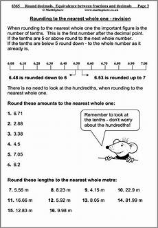 decimals rounding worksheets 7269 pin on educational maths