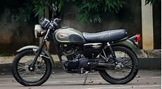 Kawasaki W175 Se Modifikasi by Kawasaki W175 Review Motor Bergaya Klasik Nan Menawan
