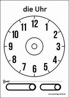 Malvorlage Uhr Lernen Zahlen 1 10 Zum Ausdrucken Kostenlos Ausmalbildkostenlos