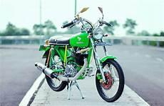 Modif Cb Glatik by Foto Modifikasi Honda Cb Glatik Ijo Lumut Mojoagung