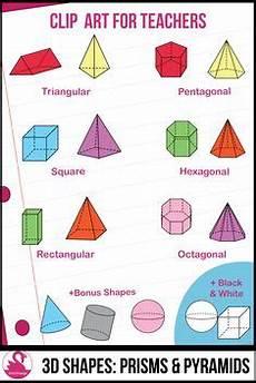 printable 3d shape worksheets properties 7 faces edges