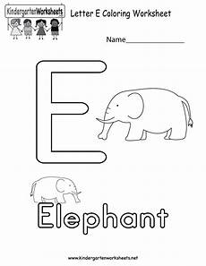 letter e tracing worksheets for preschool 23587 letter e coloring worksheet for in preschool or kindergarten with images alphabet
