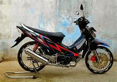 Modifikasi Motor Supra 125 by Gambar Modifikasi Supra X 125 Sederhana Terbaru Model Road