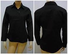 Baju Kemeja Hitam Pria Wanita Kemeja Hitam Polos Pria Wanita