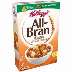 kellogg s all bran complete wheat flakes breakfast cereal