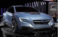 2020 subaru wrx sti concept exterior interior release