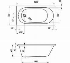 vasca misure vasca rettangolare fuori misure 140 x 70 cm