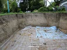 pool selbst mauern gfk schwimmbecken fertigschwimmbecken pooleinbau