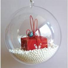 Deco De Noel Boule Transparente Noel 2017