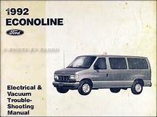 free service manuals online 1992 ford econoline e250 transmission control 1992 ford econoline van club wagon electrical troubleshooting manual