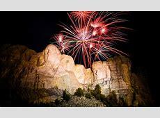 mt rushmore trump fireworks