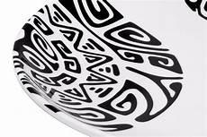 Vaisselle M 233 Lamine Motifs Tatouage De Tahiti Le Comptoir