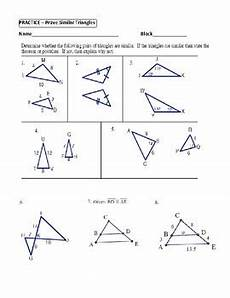geometry unit 9 prove similar triangles by aa sas sss worksheet